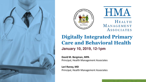 Digitally Integrated Primary Care and Behavioral Health Presentation