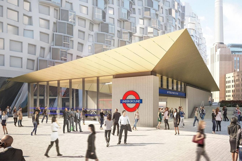 Northern line extension powers ahead