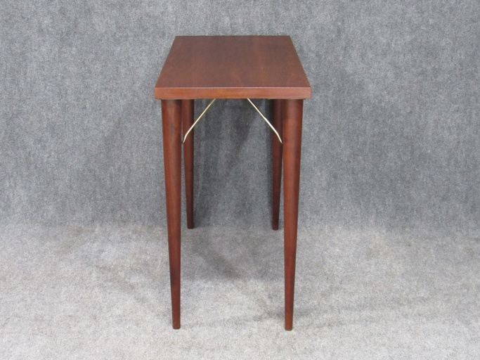 Mid-Century Modern Rosewood Hall Table / Small Desk by Design Research