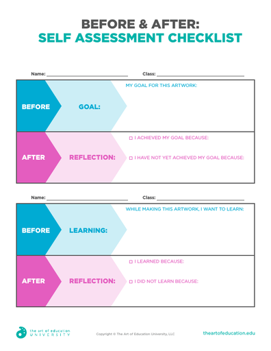 Before and After: Self Assessment Checklist - FLEX Assessment