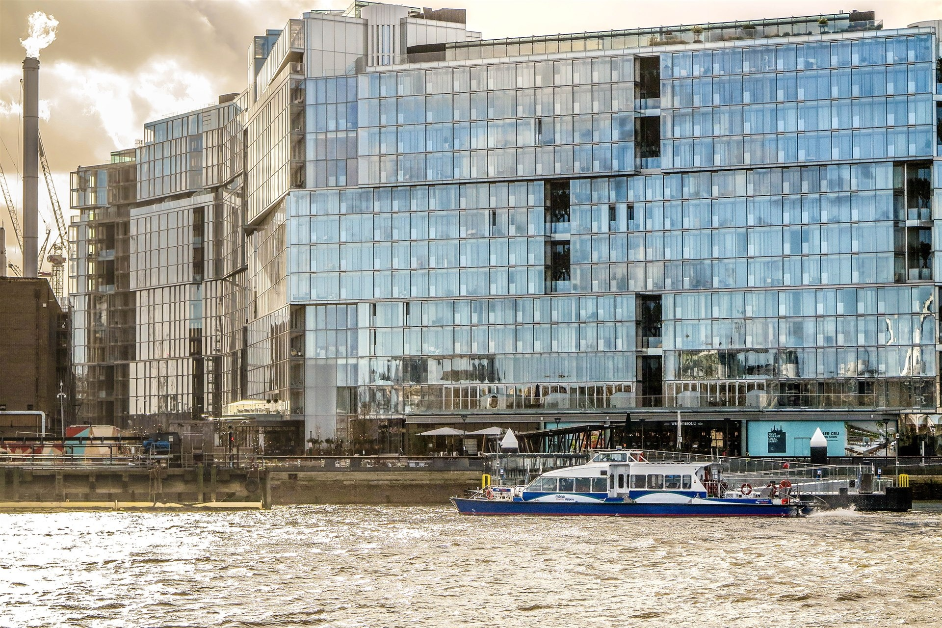 Battersea becomes the latest addition to the advanced river transport network of London