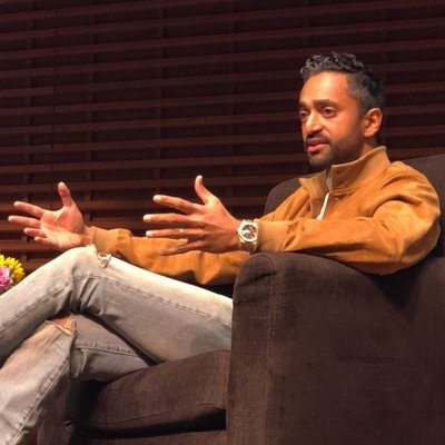 a photo of crypto expert reviewer Chamath Palihapitiya