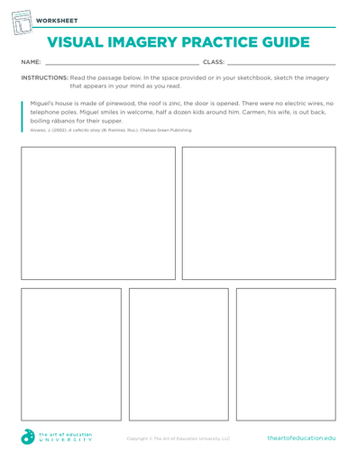Visual Imagery Practice Guide - FLEX Resource