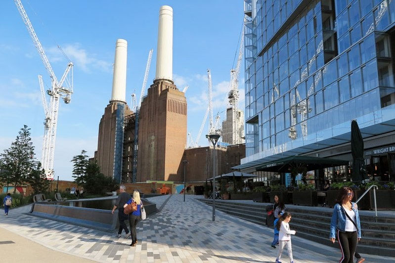 Battersea Power Station awarded for promoting economic growth