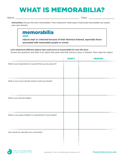 What is Memorabilia? - FLEX Assessment