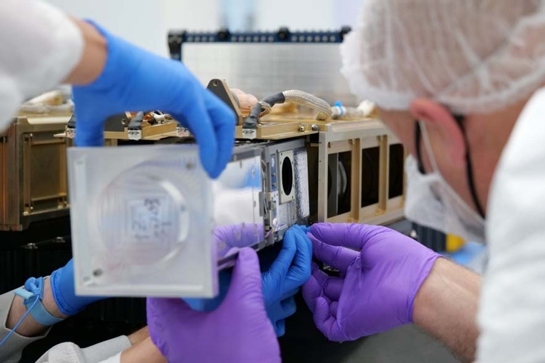 CNCE Block 1 (Cubesat Networked Communications Experiment)