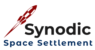 Synodic Space Settlement