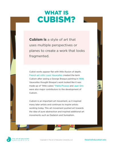 What is Cubism? - FLEX Assessment