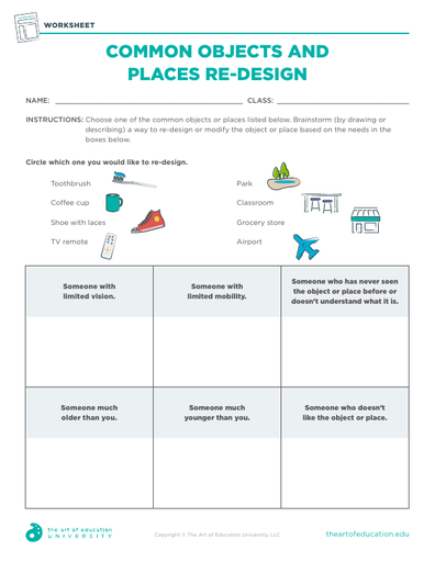 Common Objects and Places Re-Design - FLEX Resource