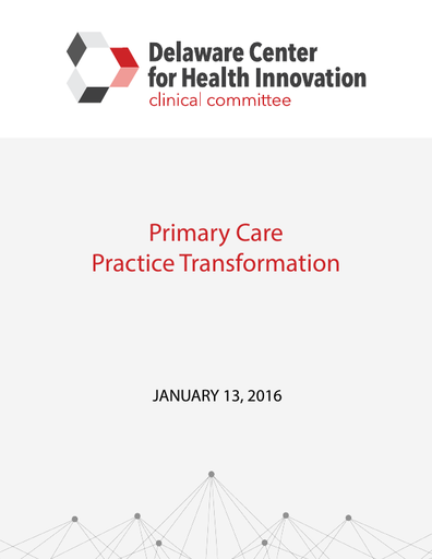 Primary Care Practice Transformation