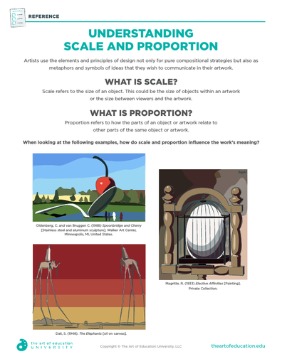 Understanding Scale and Proportion - FLEX Assessment
