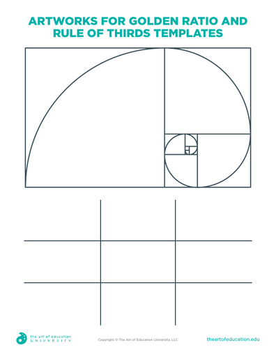 Artworks for Golden Ratio and Rule of Thirds Templates - FLEX Assessment
