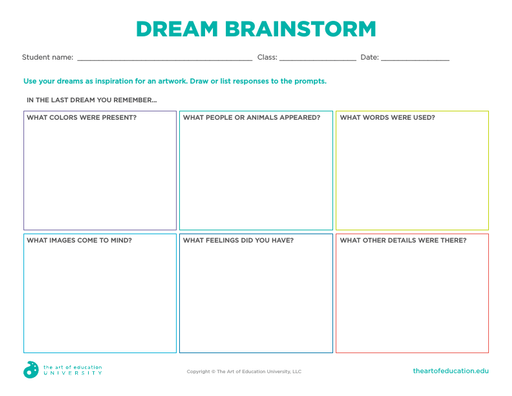 Dream Brainstorm - FLEX Assessment