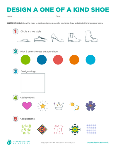 Design A One of a Kind Shoe - FLEX Assessment