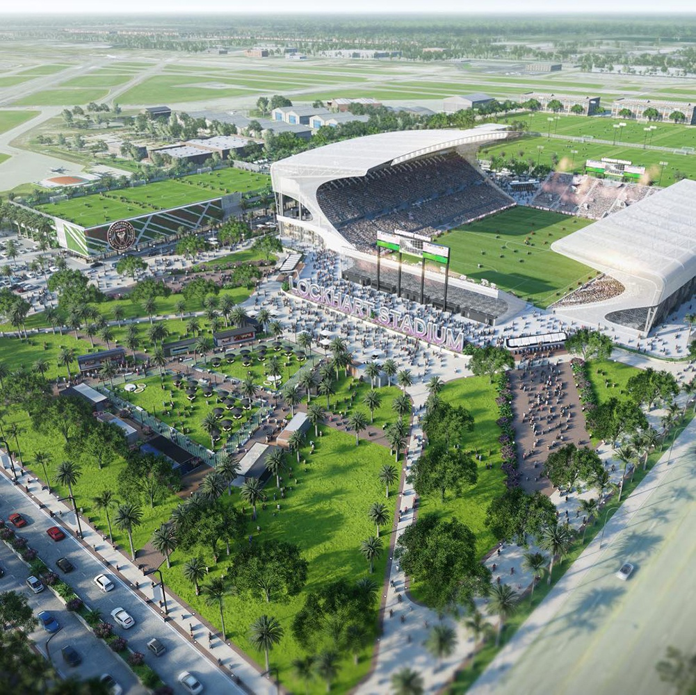 Professional football comes one step closer to Miami