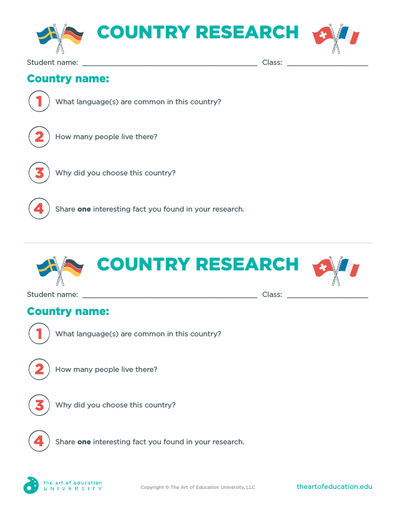 Country Research - FLEX Assessment