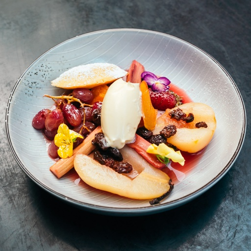 Warm Poached Fruits