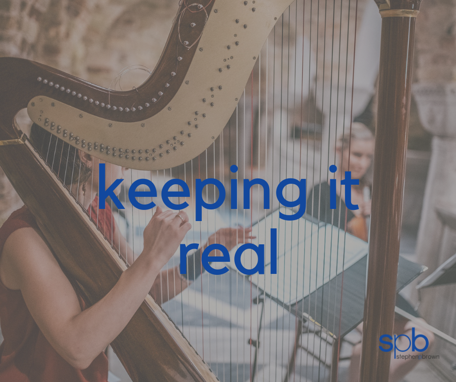 Keeping It Real - A Characteristic of Attractiveness