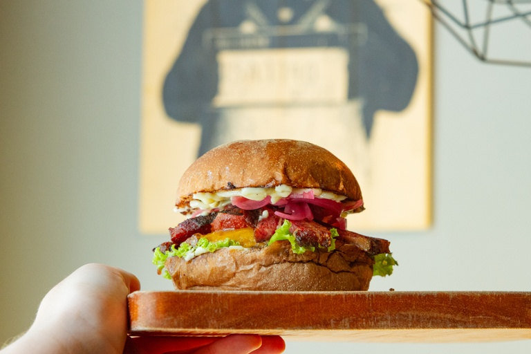 Foto de The Bear Burger .