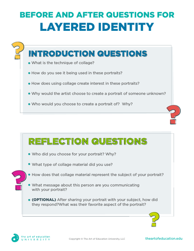 Before and After Questions for Layered Identity - FLEX Assessment
