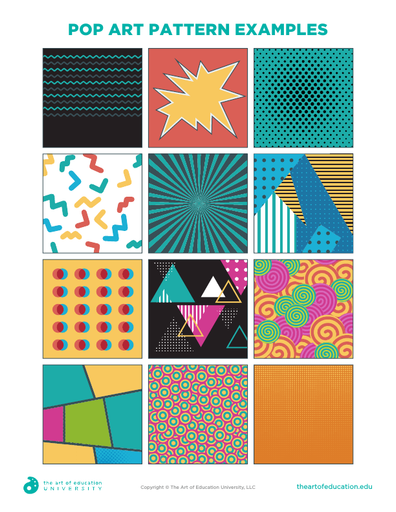 Pop Art Pattern Examples - FLEX Assessment