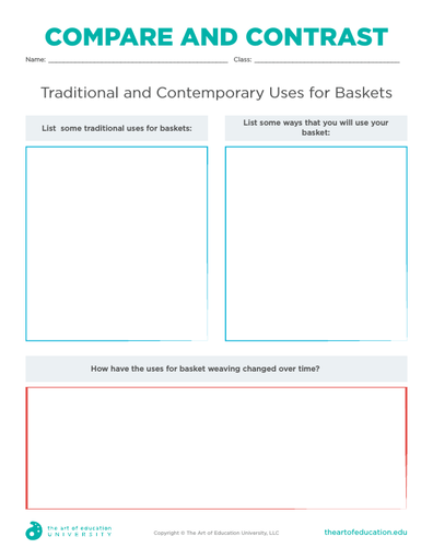 Compare and Contrast Baskets - FLEX Assessment