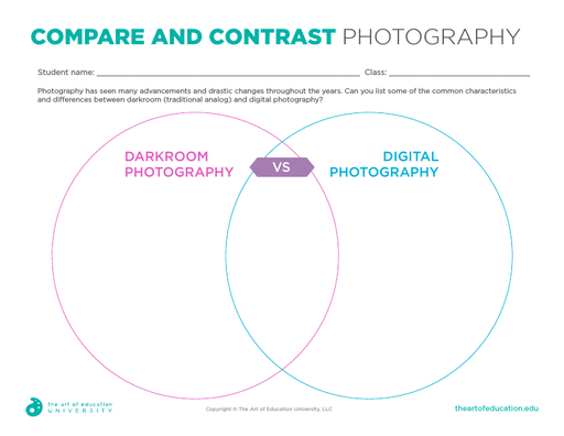 Compare and Contrast Photography - FLEX Assessment