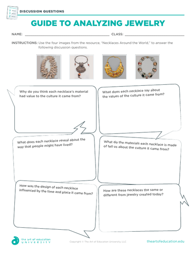 Guide to Analyzing Jewelry - FLEX Assessment