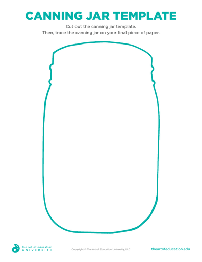 Canning Jar Template - FLEX Resource