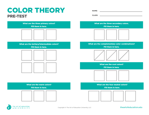 Color Theory Pre-Test - FLEX Assessment