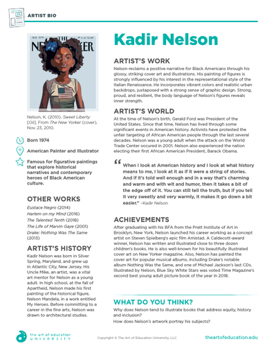 Kadir Nelson - FLEX Resource