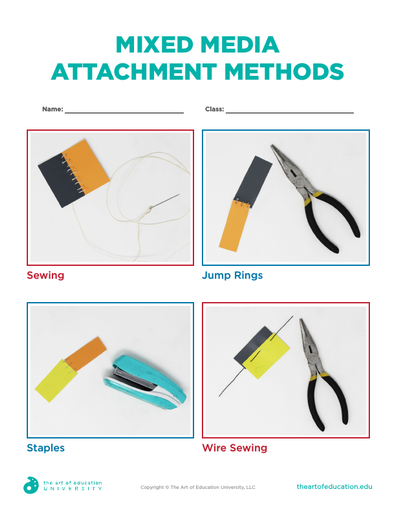 Mixed Media Attachment Methods - FLEX Assessment