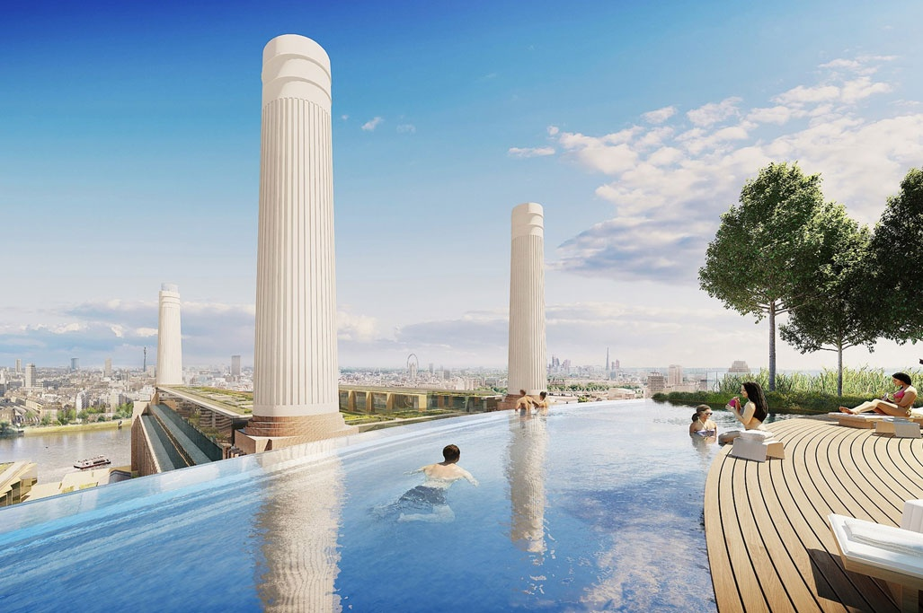 What facilities and amenities are available at Battersea Power Station?