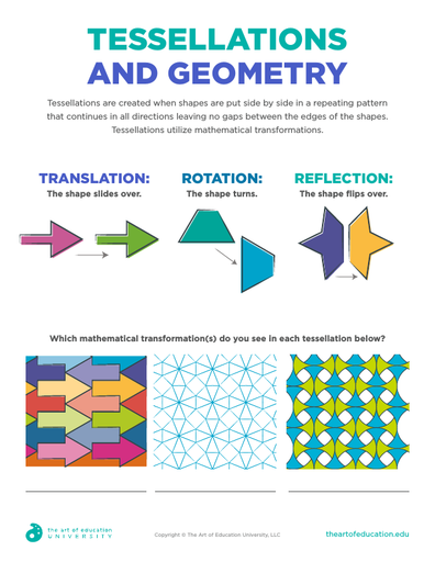 Tessellations and Geometry - FLEX Assessment