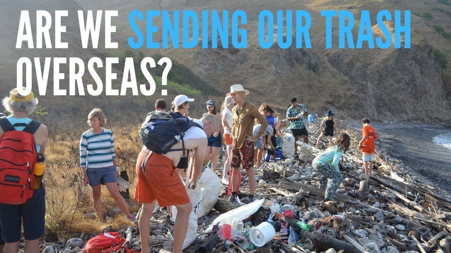 Are we sending our plastic trash overseas?