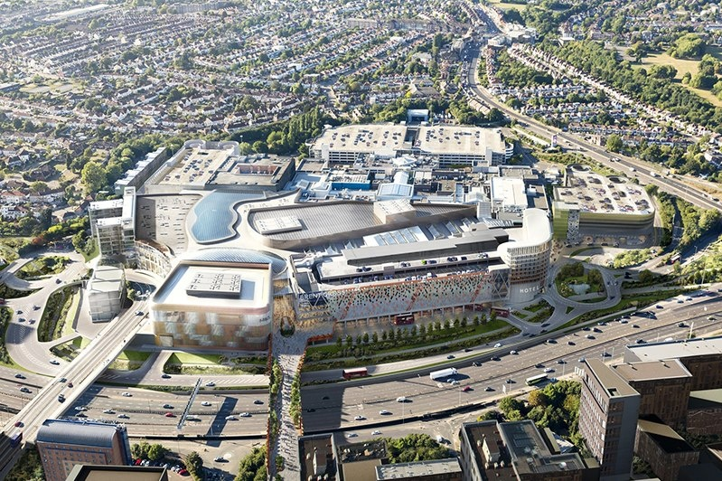 £6.4 bn regeneration South London master-plan set to make Brent Cross South a top live-work destination by 2022