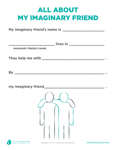 All About My Imaginary Friend - FLEX Assessment