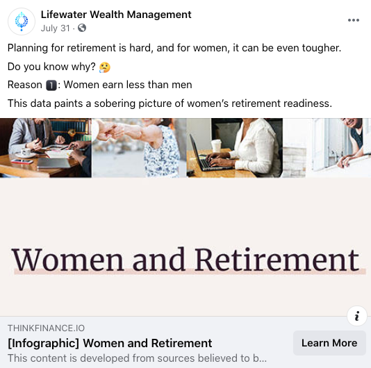 Lifewater Wealth Management Example