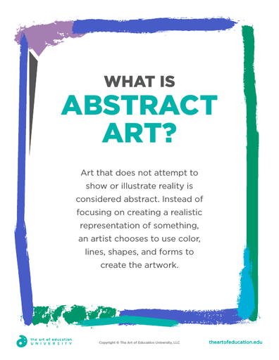What Is Abstract Art - FLEX Assessment