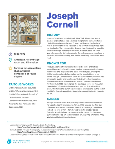 Joseph Cornell - FLEX Resource
