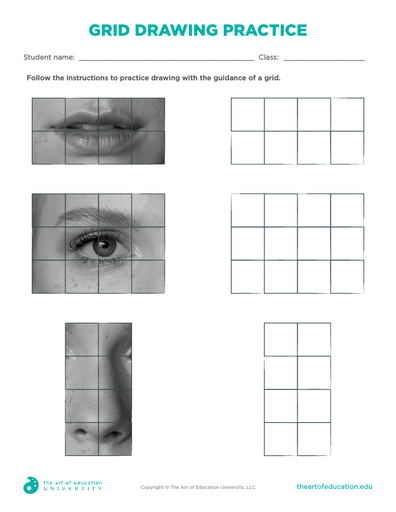 Grid Drawing Practice - FLEX Resource