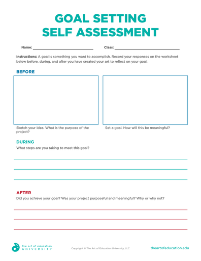 Goal Setting Self Assessment - FLEX Assessment