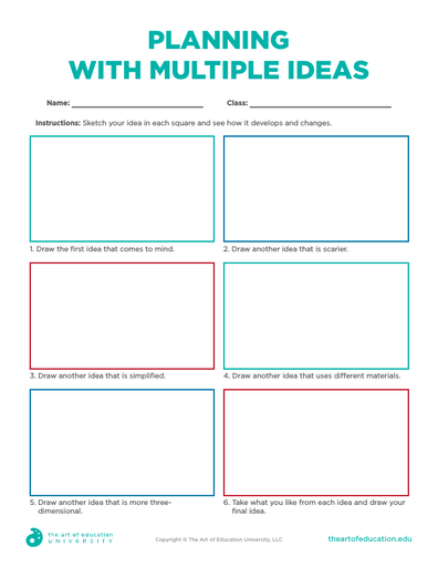 Planning with Multiple Ideas - FLEX Resource