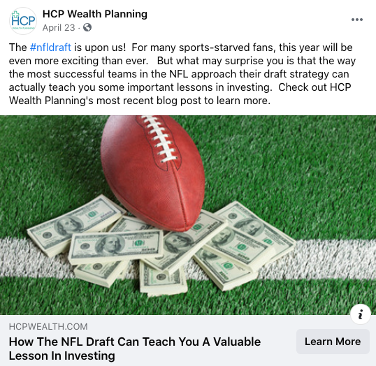 HCP Wealth Planning Example