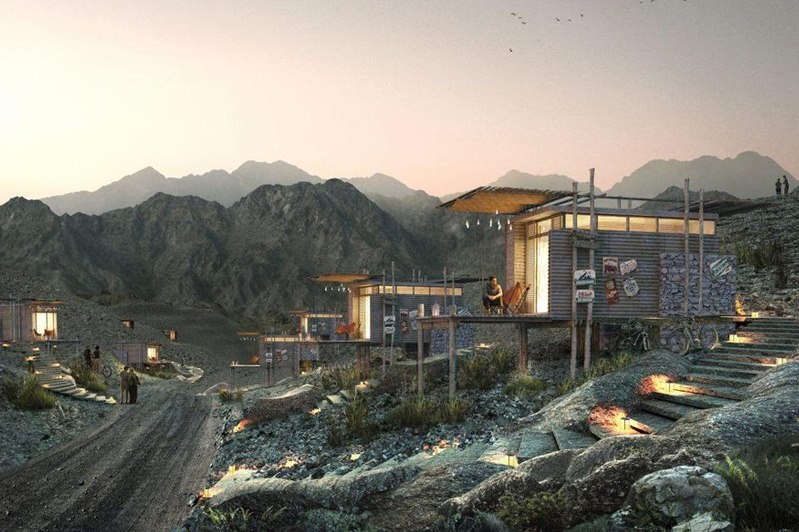 In Hatta Dubai for 'glamping' inspired by Hollywood