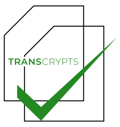 Transcrypts Deal Memo (Closing Date: 2022-04-30)
