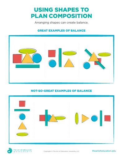 Using Shapes to Plan Composition - FLEX Assessment