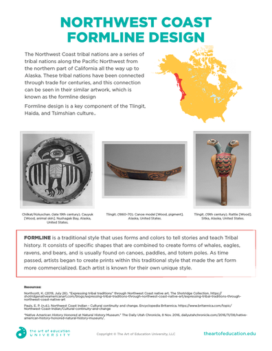 Northwest Coast Formline Design - FLEX Resource