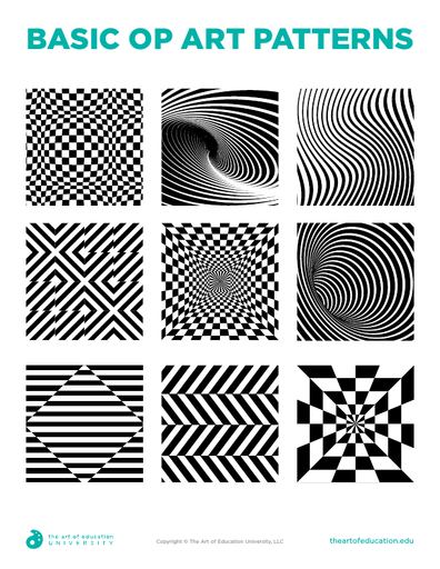 Basic Op Art Patterns - FLEX Resource