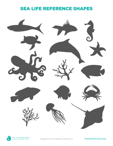 Sea Life Reference Shapes - FLEX Resource